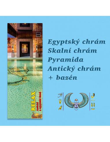 Egyptský areál soukromě - do 20 osob